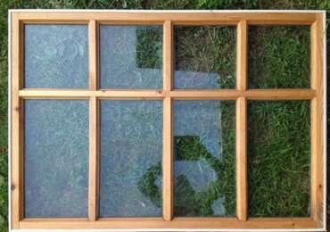Как самому сделать деревянное окно