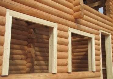 Как в деревянном доме вставить окна