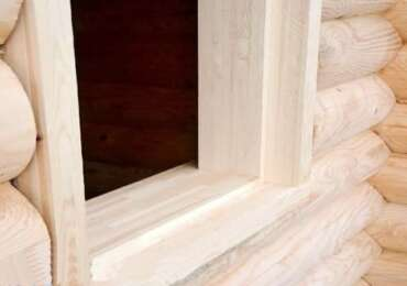 Что такое монтаж обсады окон в деревянном доме, её виды